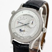Jaeger LeCoultre Master Control Geographic Chronograph Ref 142.8.92 Stainless Steel