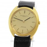 Audemars Piguet Ultra Thin Automatic 18K Gold Hobnail Bezel