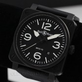 Bell and Ross Aviation Military Specification Automatic Steel BR03-92