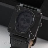 Bell and Ross BR 01-92-S Airborne Skull and Crossbone Limited Edition