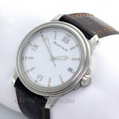 Blancpain Leman 2100 Stainless Steel White Dial