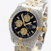 Breitling Chronomat Evolution B13356,2540736 18K Gold Steel