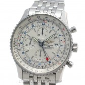 Breitling Navitimer A24322 Steel Silver Dial