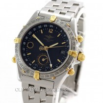 Breitling Duograph Automatic Ref B15507 Steel 18K Gold