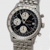Breitling Navitimer Fighters Chronograph A13330 Steel Black Dial