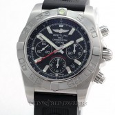 Breitling Chronomat 01 Flying Fish Ref AB0110 Steel Rubber Strap