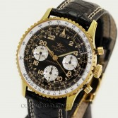 Breitling Pre-Owned Cosmonaut Ref 809 Navitimer Gold Plated
