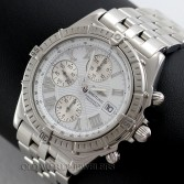 Breitling Crosswind Chronograph Ref A13355 Steel White Roman Dial