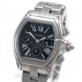 Cartier Roadster XL Automatic W62020X6 Steel Black Dial