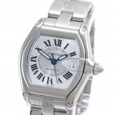 Cartier Roadster W62025V3 Stainless Seel Large Size