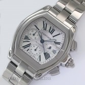 Cartier Roadster Automatic Chronograph XL Ref W62019X6 Steel