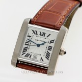 Cartier Tank Francaise Automatic Ref 2366 18K White Gold