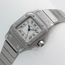 Cartier Santos Lady Automatic Stainless Steel