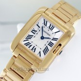 Cartier Tank Anglaise Ref 3579 18K Yellow Gold
