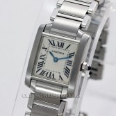 Cartier Lady Tank Francaise Ref W51008Q3 Steel