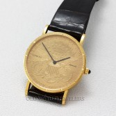 Corum 18K Yellow Gold Twenty Dollar Gold Coin Automatic