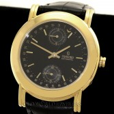 Concord 18K Yellow Gold Automatic Date 24 Hour Sub Dial