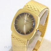 IWC Vintage Dress Watch Ref 1421 Bronze Dial 18K Yellow Gold