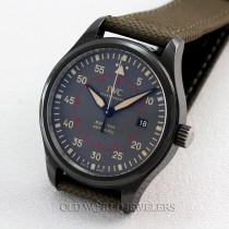 IWC Shaffhaussen Top Gun Mark XVIII Pilot Automatic Ref 3247 Ceramic Case