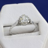 .69ct Diamond Platinum Engagement Ring