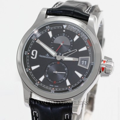 Jaeger LeCoultre Master Compressor GMT Chronograph Steel