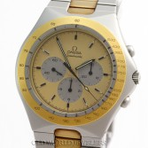 Omega Seamaster Teutonic Ref 1450040 Steel Gold Plate