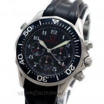 Omega Olympic Series Seamaster 2894.51.91 Steel Rubber Strap