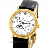 Patek Philippe Calatrava Officers Case Ref 5015J 18K Gold