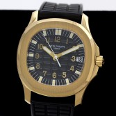 Patek Philippe Mid Size Aquanaut Ref 5066J 18K Yellow Gold Tropical Strap