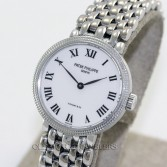 Patek Philippe Calatrava 4809/2 Tiffany & Co 18K White Gold Bracelet