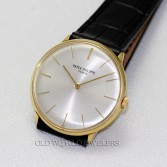 Patek Philippe Ref 2573 18K Yellow Gold Silver Dial