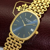 Patek Philippe Ellipse 3788/1 18K Gold Blue Dial