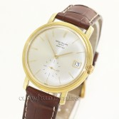 Patek Philippe Automatic Calatrava Ref 3445 18K Yellow Gold