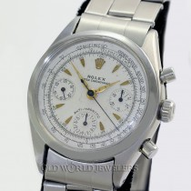 Rolex Ref 6234 Vintage Stainless Steel Anti Magnetic Oyster Chronograph