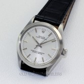 Rolex Oyster Perpetual Ref 1002 Steel Silver Dial