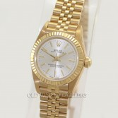 Rolex Lady Oyster Perpetual Ref 76198 18K Yellow Gold