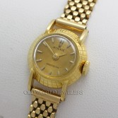 Rolex Lady Orchid Perpetual Dress Watch Ref 8271 18K Yellow Gold