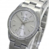 Rolex Air King Ref 14010M Steel Silver Dial