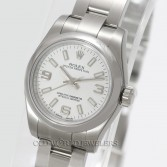 Rolex Lady Oyster Perpetual 176200 Steel White Dial