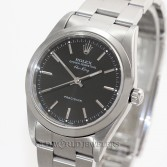 Rolex Air King Ref 14000 Steel Black Dial