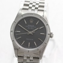 Rolex Air King 14010 Stainless Steel Slate Dial