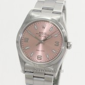 Rolex Air King 14000 Steel Salmon Dial