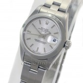 Rolex Lady Date 79160 Steel Silver Stick Dial