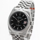 Rolex Datejust 116200 Stainless Steel Black Dial