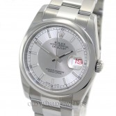 Rolex Datejust 116200 Steel Silver 2 Tone Dial