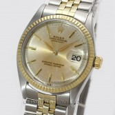 Rolex Datejust Ref 1601 18K Steel Dial with Patina