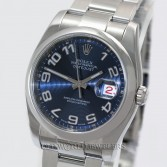 Rolex Datejust Ref 116200 Steel Blue Concentric Dial