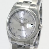 Rolex Datejust 116200 Steel Silver Stick
