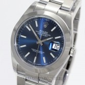 Rolex Datejust 41 Ref 126300 Blue Dial Stainless Steel