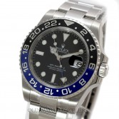 Rolex GMT Master II Ref 116710B Steel Batman